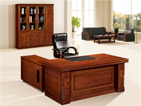 17 Walnut wood office table FOHB2F 321S Foh