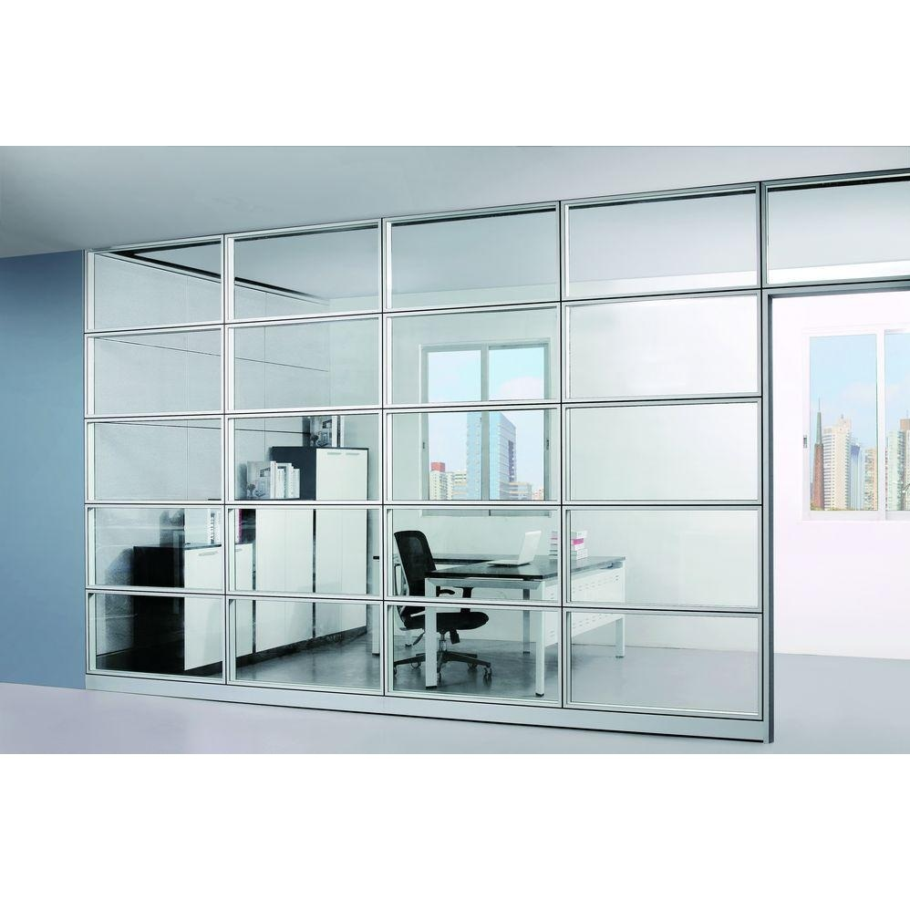 frosted glass operable wall room dividers partition foh wp12