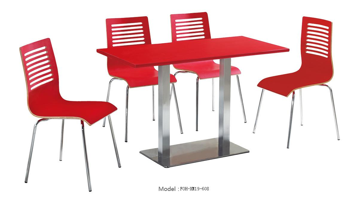 set restaurant furniture canteen furniture food court furniture cafe