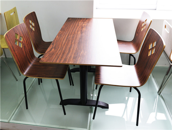 High quality fast food restaurant furniture foh cxsc