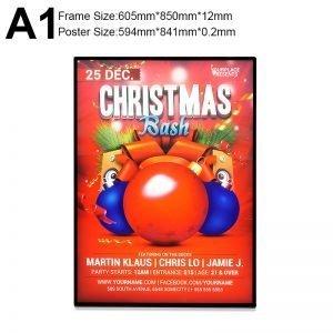 lighbox christmas frame
