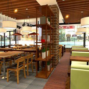 Designer Restaurant Furniture -JF19-26