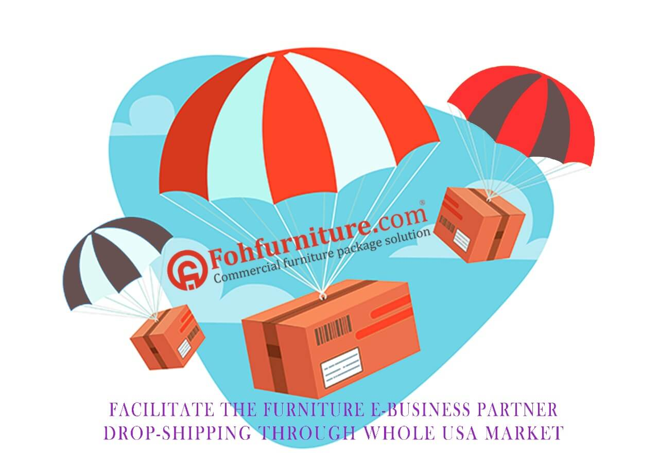 Furniture dropshipping service