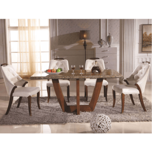 marble table top dining set
