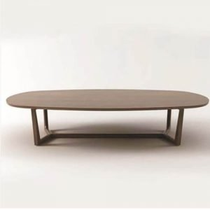 round y-shaped legged dining table