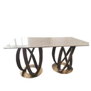 FOH-XY024- double ring base dining table