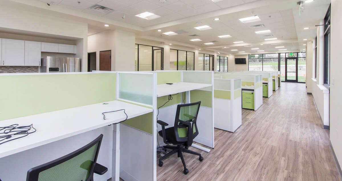 call center workstations & cubicles